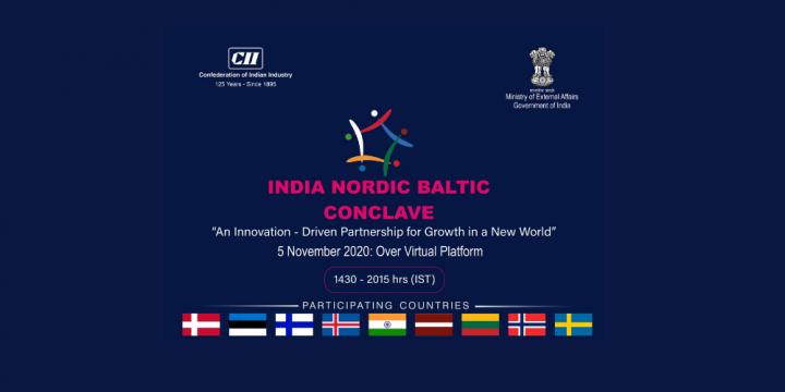 """VAS Elektroniskie sakari pārstāv Latviju pirmajā Indijas-NB8 uzņēmējdarbības konklāvā ar nosaukumu """"Inovāciju vadīta partnerība izaugsmei jaunā pasaulē"""""""